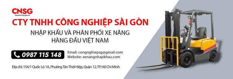 Xe nâng hàng Công nghiệp Sài Gòn